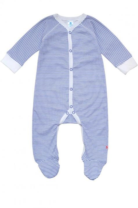 Комбинезон для новорожденных Minikin синяя полоска