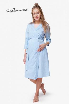 Ночная рубашка для беременных и кормящих Creative Mama Anais