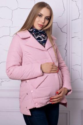Демисезонная куртка для беременных Lullababe прованс пудра