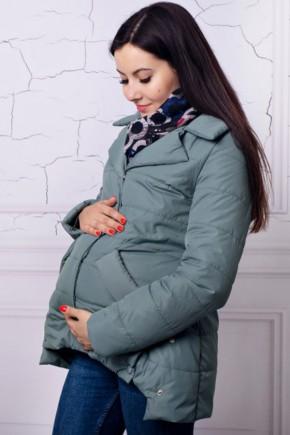 Демисезонная куртка для беременных Lullababe прованс оливка