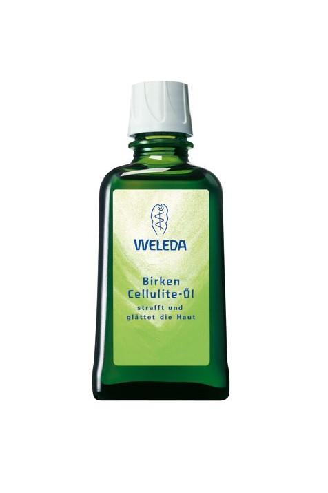 Березовое антицеллюлитное массажное масло Weleda 100 мл