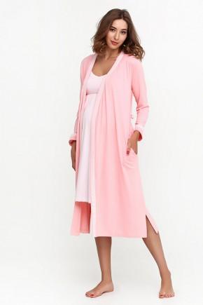 Халат для беременных и кормящих Creative Mama Dolce peach