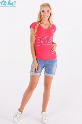 Шорты для беременных To be джинс