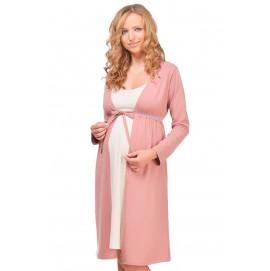 Халат для вагітних і годуючих Мамин Будинок Mellow Rose арт. 25303