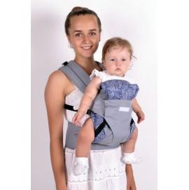 Эрго рюкзак Малышастик Світ навколо 360 серый