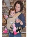 Эрго рюкзак Малышастик Світ навколо 360 бежевый