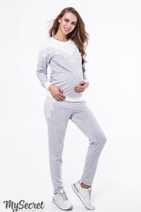 Спортивный костюм для беременных и кормящих Юла Mama Irhen ST-39.031