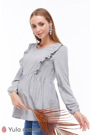 Блузка для беременных и кормящих Юла Mama Marcela BL-39.013