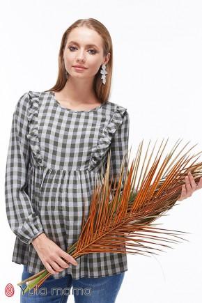 Блузка для беременных и кормящих Юла MamaMarcela BL-39.012