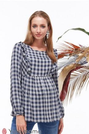 Блузка для беременных и кормящих Юла Mama Marcela BL-39.011