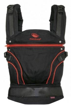 Слинг-рюкзак Manduca Radical Red красный