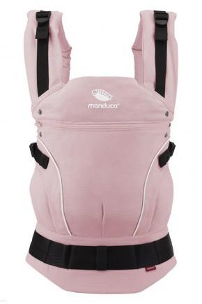 Слинг-рюкзак Manduca Pure Cotton Rose нежно-розовый