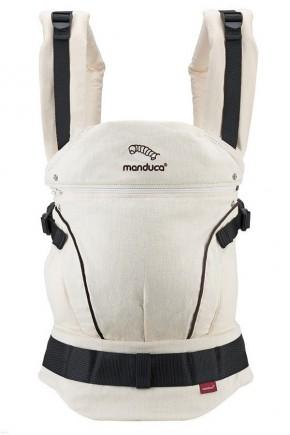 Слинг-рюкзак Manduca Hemp Cotton Nature-Brown молочный