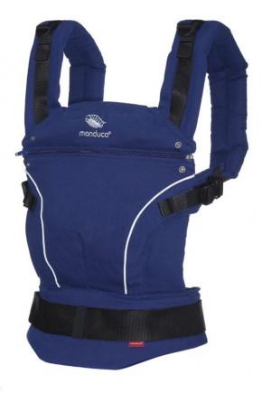 Слинг-рюкзак Manduca Pure Cotton Royal Blue синий