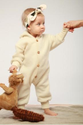 Мериносовый Комбинезон для детей Cosilana из флисовой шерсти