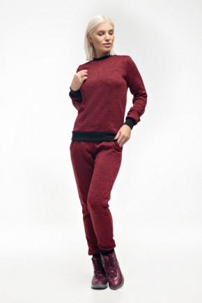 Спортивный костюм теплый для беременных и кормящих Lullababe бордо