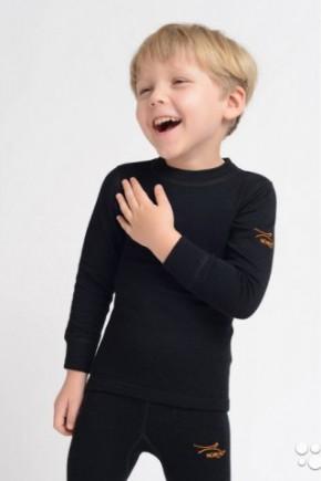 Термофутболка детская с длинным рукавом Norveg Active Kids