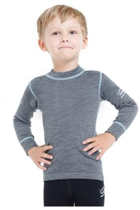 Термофутболка детская с длинным рукавом Norveg  Soft