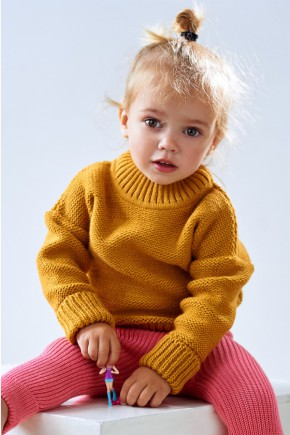 Шерстяной костюм для детей Lutik свитер+ рейтузы