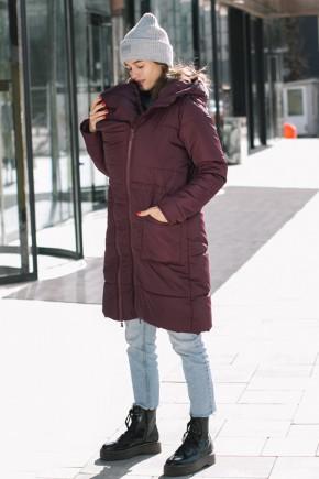 Зимняя слингокуртка 3в1 для беременных и слингоношения Love & Carry марсала