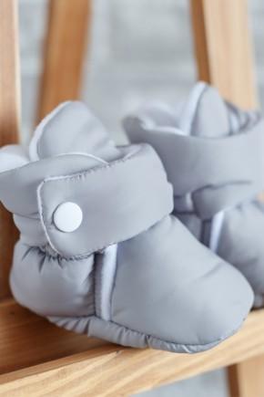 Пинетки-сапожки Magbaby серые