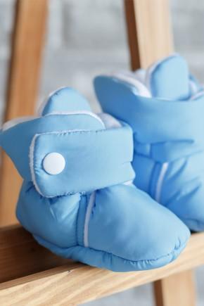 Пинетки-сапожки Magbaby голубые