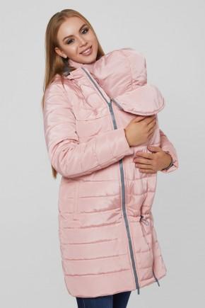 Зимняя слингокуртка 3 в 1 для беременных Lullababe Dresden розовый