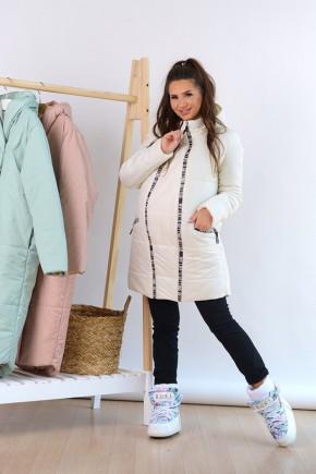 Куртка для беременных To Be 3044273 молочная