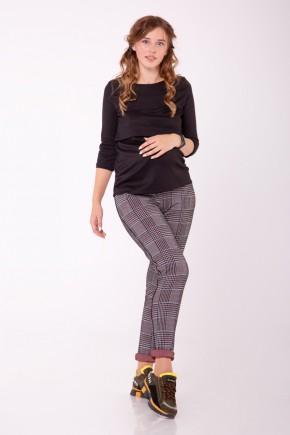 Штани для вагітних White Rabbit Joy Jeans чорні