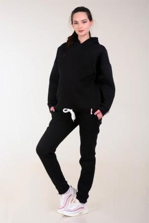 Спортивный костюм для беременных и кормящих White Rabbit Bubble черный