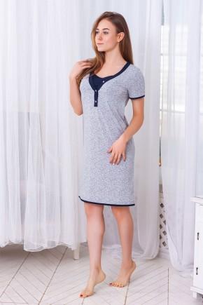 Ночная рубашка для беременных и кормящих ZNANA Favorite звездочка