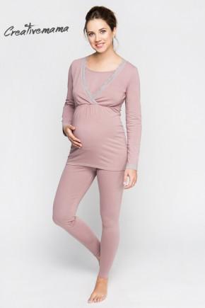 Пижама для беременных и кормящих Creative Mama Harmoniya