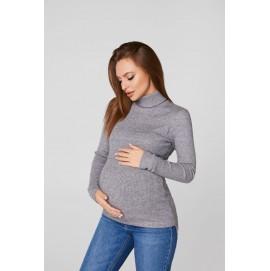 Гольф для беременных  и кормящих Lullababe Dublin серый