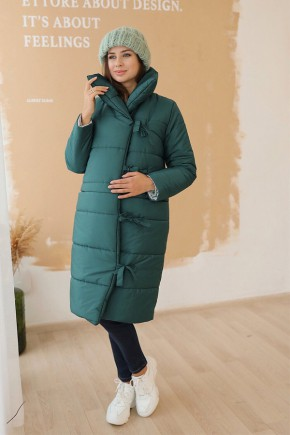 Зимняя куртка для беременных To Be 3146274 темно-зеленая