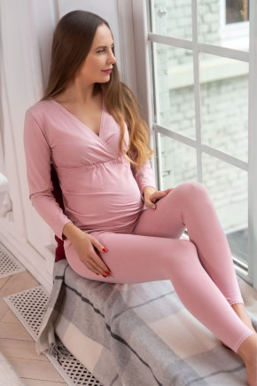 Пижама термо для беременных и кормящих Mirelle Мамин Дом арт. 103-49