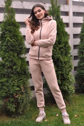 Спортивный костюм для беременных и кормящих Creative Mama Capucino