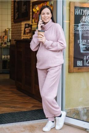 Спортивный костюм для беременных и кормящих Creative Mama Nova Pudra