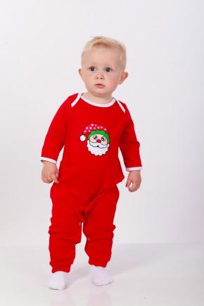 """Новорічний чоловічок """"Little Santa"""" Magbaby червоного кольору"""
