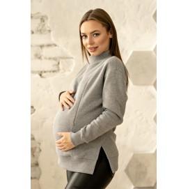 Худи с разрезами для беременных и кормящих Ottawa Lullababe меланж