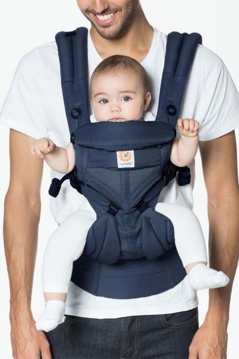 Эрго рюкзак Ergo baby Omni 360 Синий с рождения