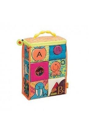 Развивающие мягкие кубики-сортеры ABC S2 (6 кубиков, в сумочке)
