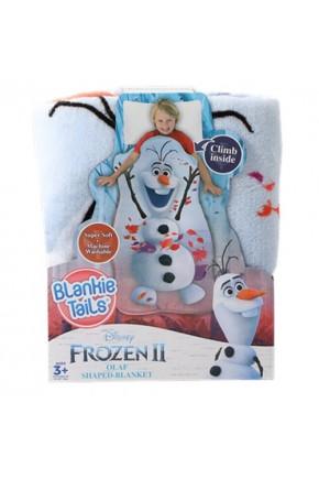 Плед-спальник BLANKIE TAILS серии «Disney: Холодное сердце 2» – ОЛАФ