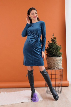 Платье для беременных и кормящих To be 4208 полуночно-синий