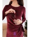 Платье для беременных и кормящих To be 4208 фиеста