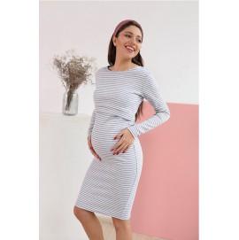 Плаття для вагітних і годуючих To be 4139 смугасте