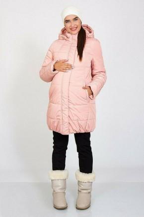 Зимняя куртка для беременных Юла Mama Jena OW-46.093 пудра