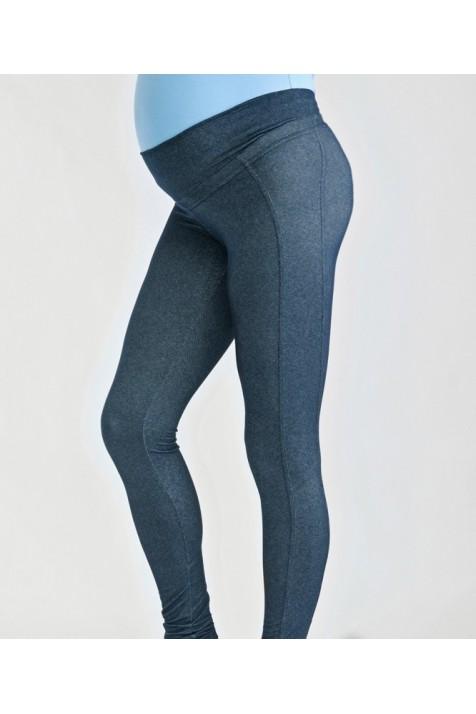 Леггинсы для беременных и кормящих (джинс)