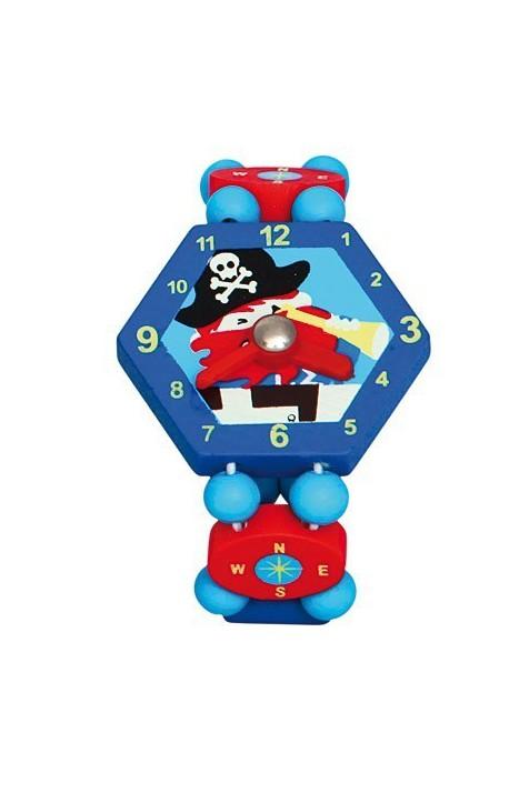 Наручные детские часы Bino Пират арт. 9086037 синие