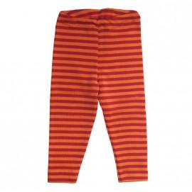 Легінси Engel шовк/вовна червоно/помаранчеві