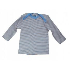 Кофточка длинный рукав, хлопок/шерсть/шелк, цветной, Cosilana